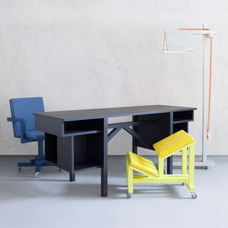 Playfully Blockish Office Furniture