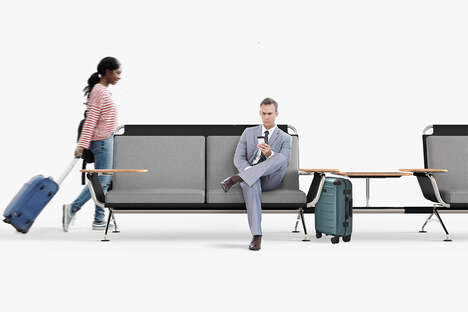 Modular Airport Terminal Seating