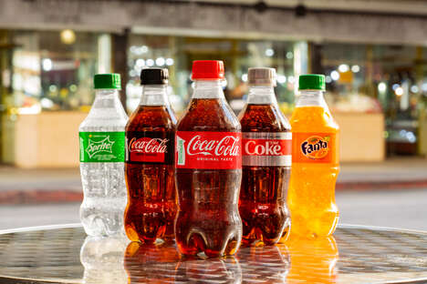 Recycled Plastic Soda Bottles