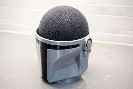 Sci-Fi Character Speaker Docks