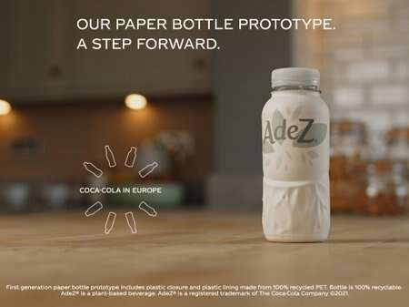Paper Bottle Beverage Prototypes