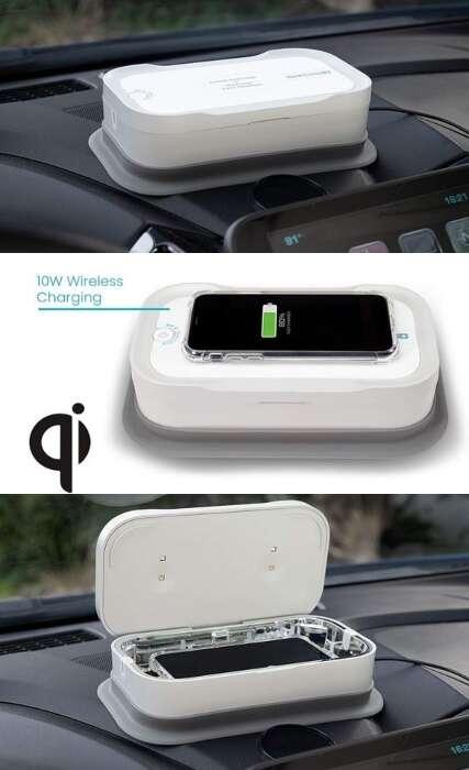 Automotive Smartphone Sanitizer Boxes
