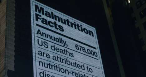 Malnutrition Label Billboards