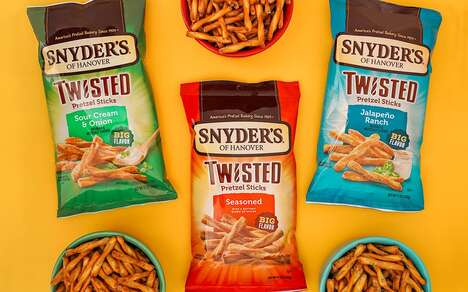 Intense Flavor Pretzel Snacks