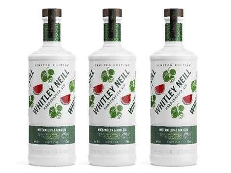 Summer Fruit-Flavored Gins