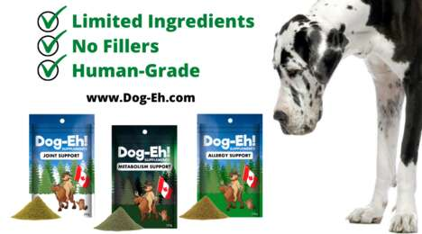 Human-Grade Dog Supplements