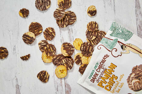 Chocolate-Covered Plantain Chips