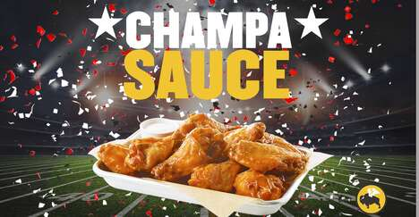 Football Champion Wing Sauces