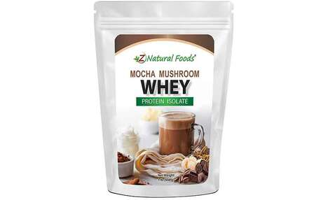 Chocolaty Mushroom Protein Blends