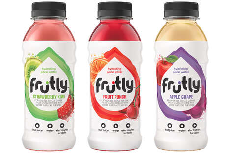 Hydrating Fruit-Flavored Waters