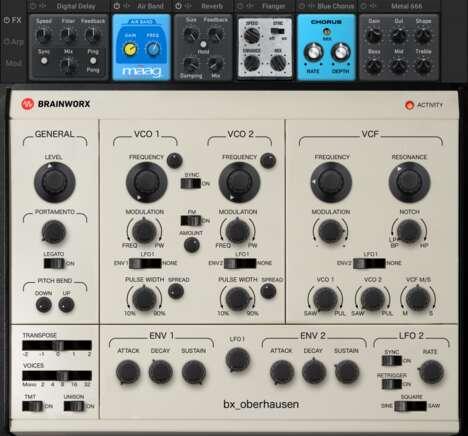 Vintage-Modeled Synthesizers