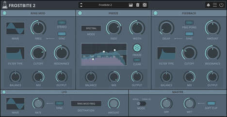Spectral Freezing Plug-Ins