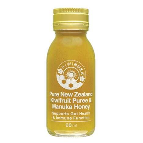 Kiwi-Infused Immunity Drinks