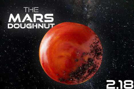 Celebratory Martian Donuts