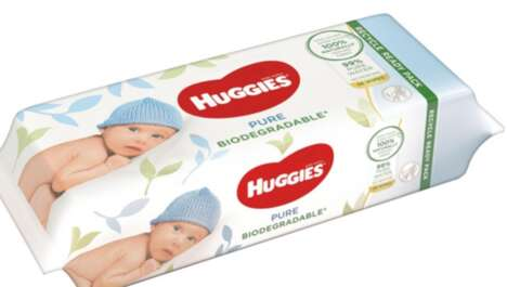 Biodegradable Baby Wipes