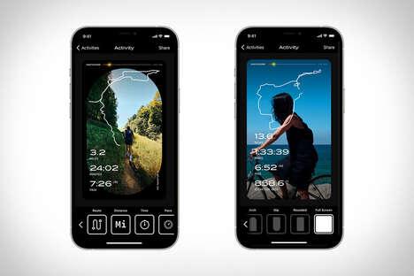 Social Media-Friendly Fitness Apps