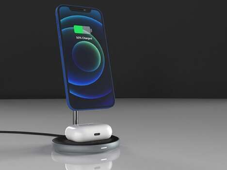 Elevated Magnetic Charger Docks