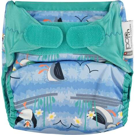 All-in-Two Reusable Diapers