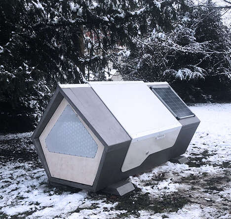 Solar-Powered Homeless Sleep Pods