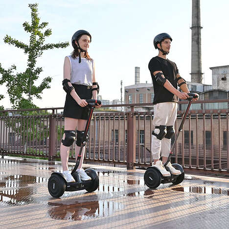 Speedy Self-Balancing Scooters