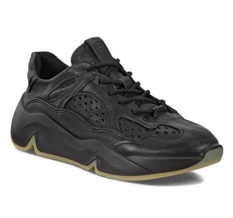 Sleek Overlaid Sneakers