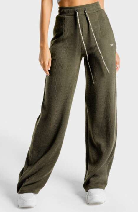 Chic Wide Leg Joggers