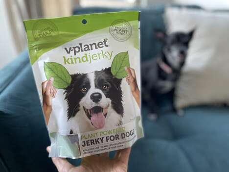 Dog-Friendly Meatless Jerky