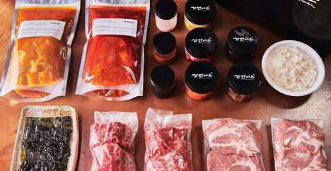 Artisan Korean BBQ Meal Kits