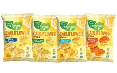Cauliflower-Based Snack Chips