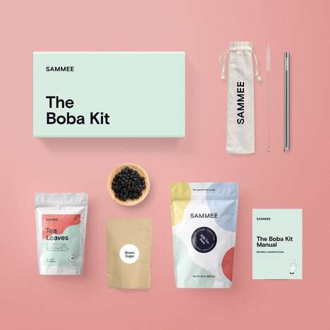 At-Home Bubble Tea Kits