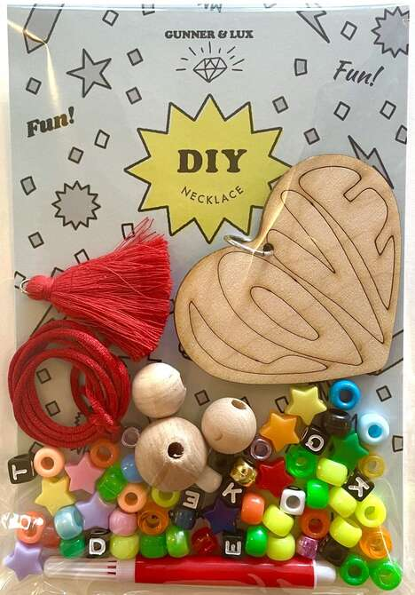 Children's DIY Necklace Kits