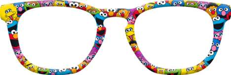Affordable Cartoon-Themed Glasses