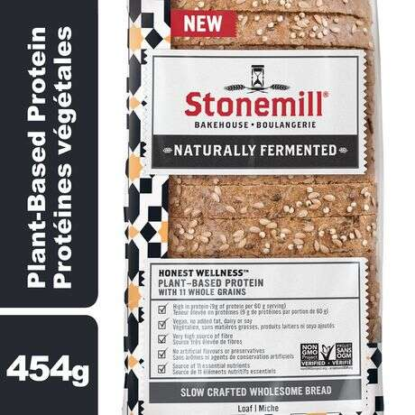 Plant-Based Protein Breads