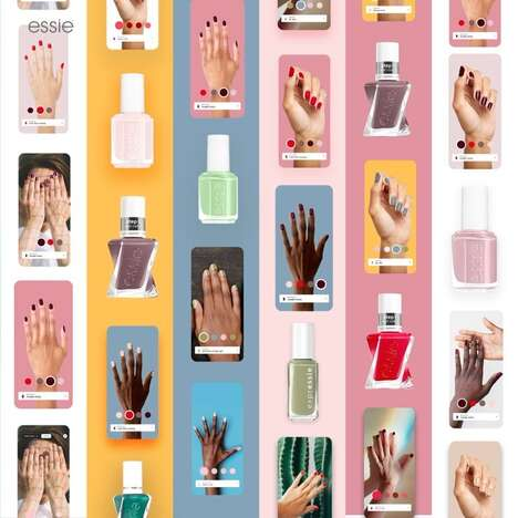 Virtual Nail Polish Salons