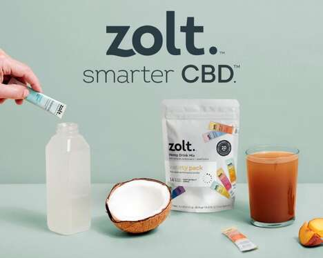 Full-Spectrum CBD Drink Powders