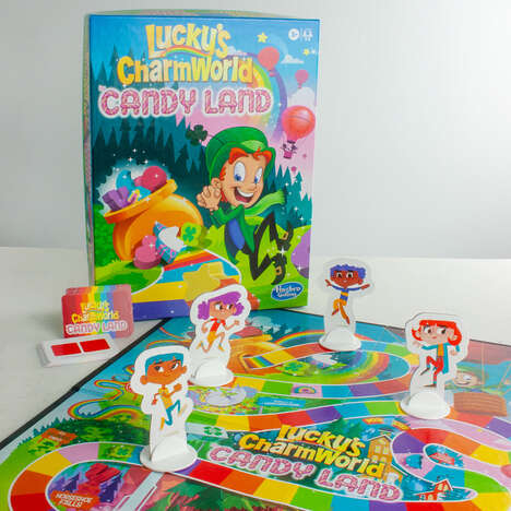 Breakfast Cereal Board Games