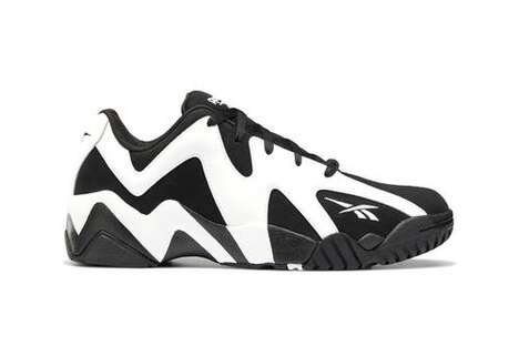 Stark Monochromatic Geometric Sneakers