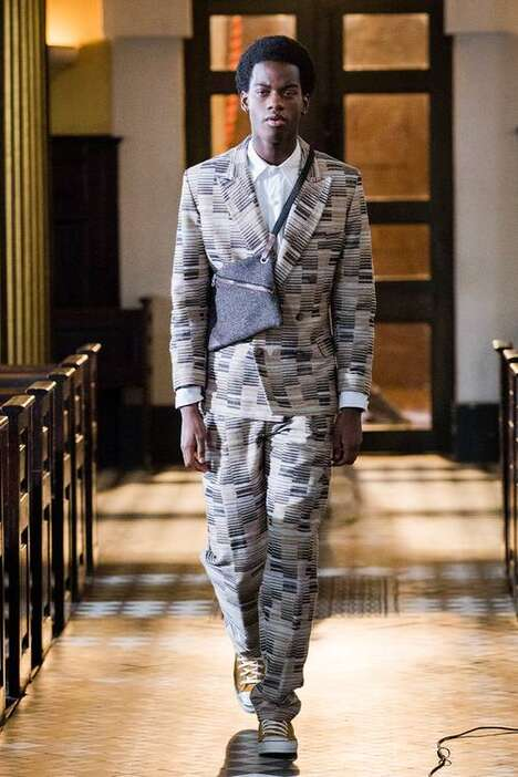 West African-Themed Fall Menswear