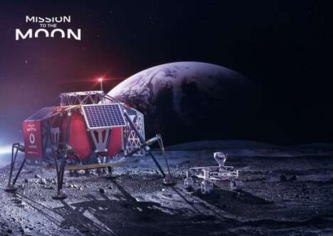 Moon-Based Cellular Services