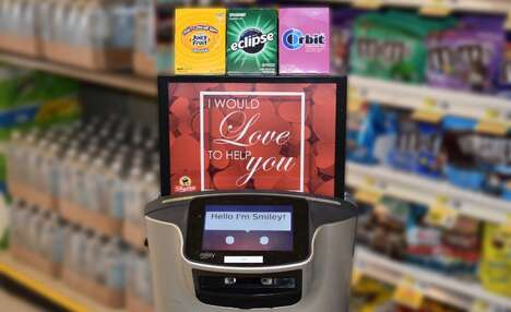 Candy-Sharing Retail Robots