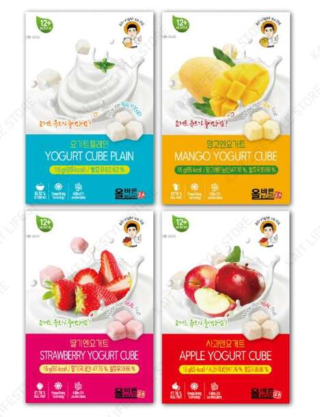 Probiotic Yogurt Cubes