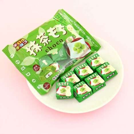 Bite-Sized Green Tea Sweets