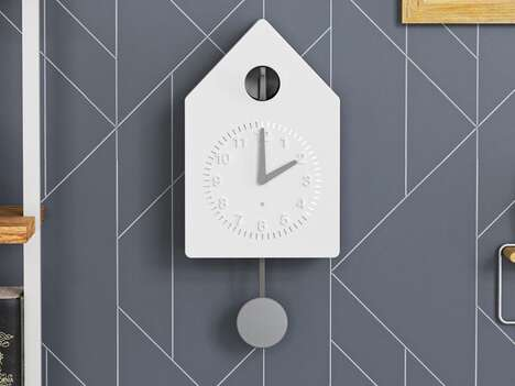 Connected Modernist Cuckoo Clocks