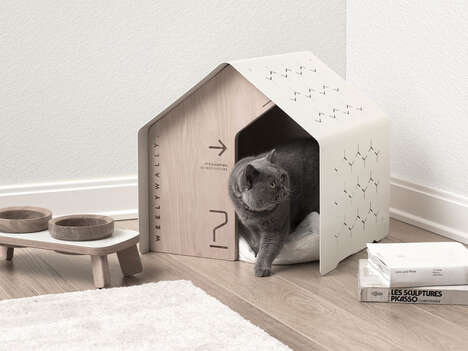 Minimalist Indoor Pet Houses