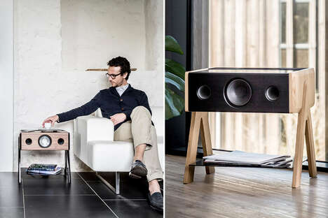 Attention-Grabbing Speaker Furniture