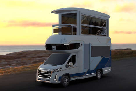 Expandable Double-Decker Campers