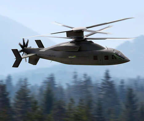 Advanced Utility Army Helicopters