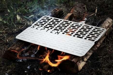 Durable Titanium Cooking Plates