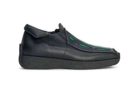 Retro Futuristic Sleek Footwear