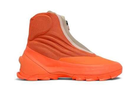 Futuristic Sporty Vibrant Boots